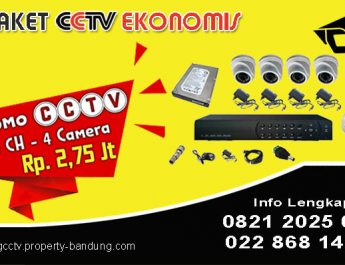 PAKET CCTV EKONOMIS BANDUNG