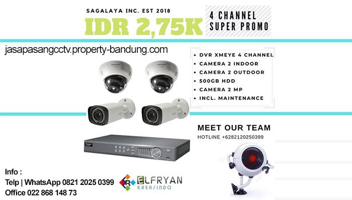 Promo Paket CCTV Murah Bandung Spesial Maret