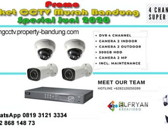 Promo Paket CCTV Murah Bandung Spesial Juni 2020