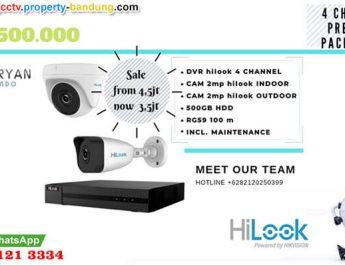 Promo Paket CCTV Hilook Bandung